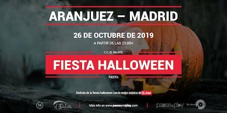 Fiesta Halloween con Dj Jean en Pause&Play El Deleite entradas