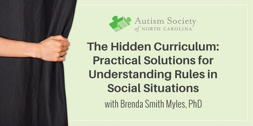 Conference: Autism and the Hidden Curriculum