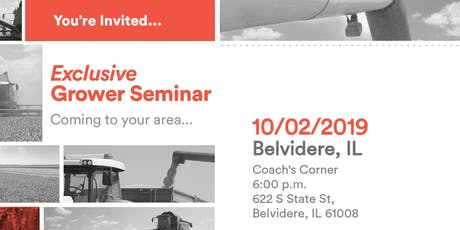 Exclusive Grower Lunch Seminar - Belvidere, IL tickets