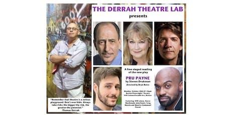 The Derrah Theatre Lab presents PRU PAYNE by Steven Drukman (reading) tickets