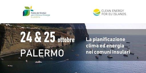 La pianificazione clima ed energia nei comuni insulari