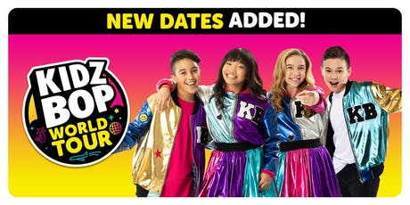 KIDZ BOP WORLD TOUR  | www.kidzbop.com tickets