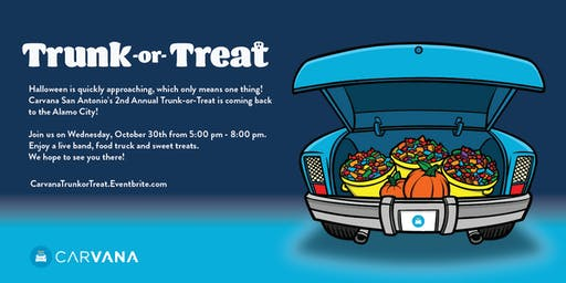 2nd Annual San Antonio Trunk-or-Treat