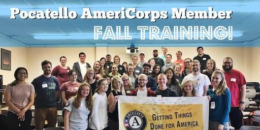 Pocatello AmeriCorps Member Fall Training