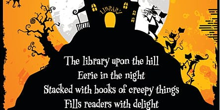 Brigham City Library Halloween Party for kids ages 5-10 years old