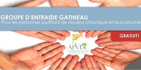 Groupe d'entraide APVDC-AQDC (Jour) billets