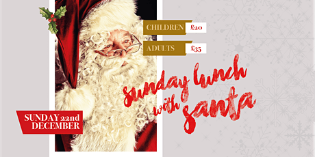 Sunday Lunch with Santa tickets