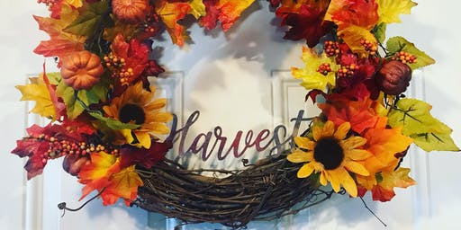 Guided Artistic Expression Series: Harvest Wreath