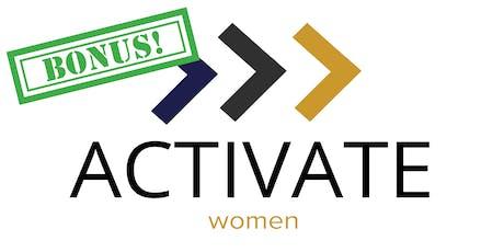 BONUS! ACTIVATE Women: Local Leadership tickets