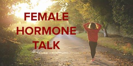 Female Hormone Talk: a talk on perimenopause (suitable women 35+) tickets