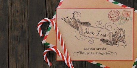 Kingston - Santa's Grotto - Mon 16th Dec tickets