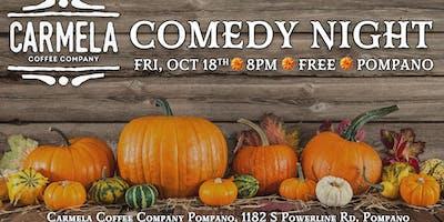 Stand-Up Comedy Showcase | Carmela Coffee | Hennessy Williams