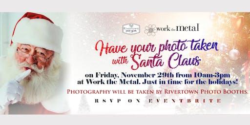 Take Photos with Santa at Work the Metal