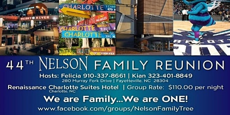 Nelson 44th Family Reunion tickets