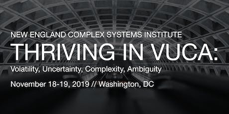 Thriving in Volatility, Uncertainty, Complexity and Ambiguity tickets