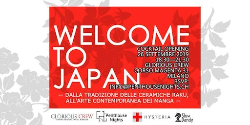 """Welcome To Japan"" - Cocktail Opening & Art Performing"