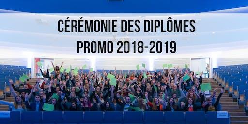 Cérémonie des diplômes 2019 - IHECS - ASCEP/RP