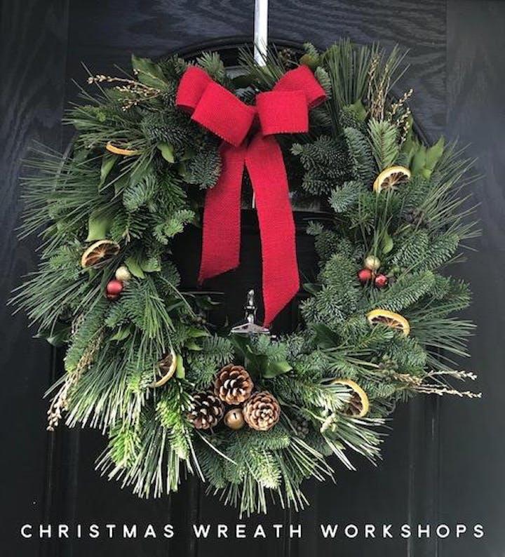 Christmas Wreath.Christmas Wreath Workshop
