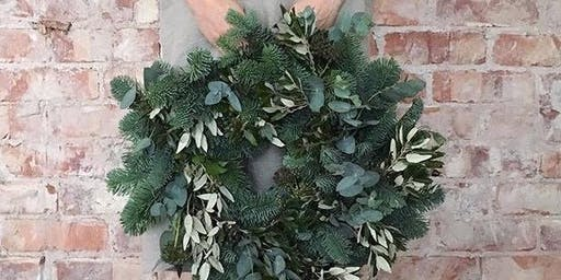 Luxury Wreath Making Workshop with Lucious lunch.