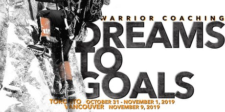 Seminar #1 - Dreams to Goals - Vancouver, BC  tickets