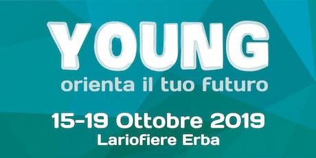 YOUNG - Venerdì 18 Ottobre - SECONDO GRADO tickets
