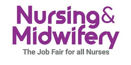 Nursing & Midwifery Job Fair - Toronto, September 2020 tickets