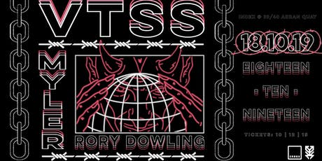 Index x Research : VTSS / Myler / Rory Dowling tickets
