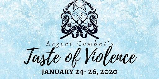 Taste of Violence: Winter Stage Combat Workshop
