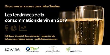 Présentation du Baromètre SOWINE 2019  avec Nicolas Feuillatte & Ter'info billets