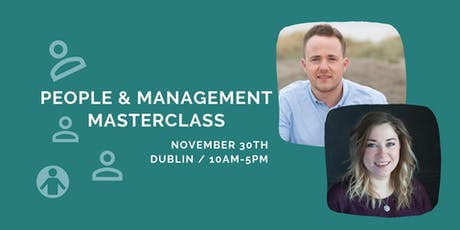 People and Management Masterclass tickets
