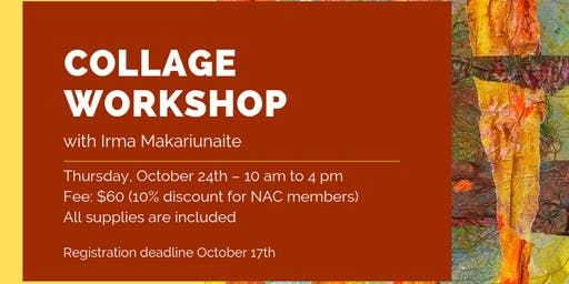 Collage Workshop with Irma Makariunaite