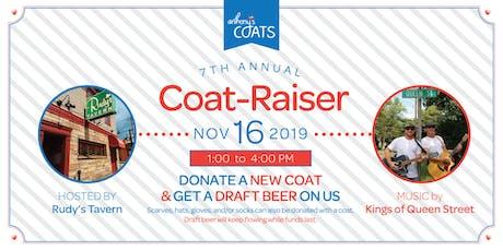 7th Annual Anthony's Coats Coat-raiser tickets