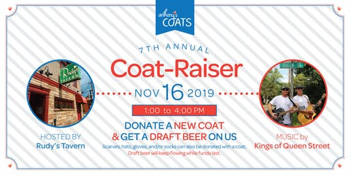 7th Annual Anthony's Coats Coat-raiser