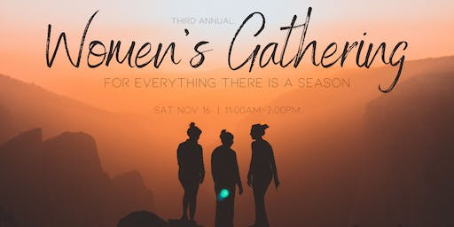Crossroads Women's Gathering  2019