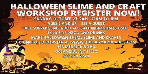 Slime Halloween Workshop