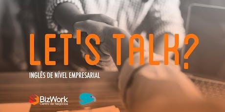 Tertúlia - Small Talk in English bilhetes