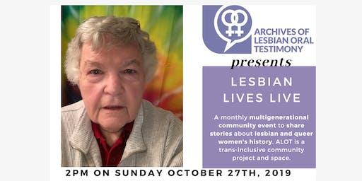 Lesbian Lives Live: Barbara Minshall