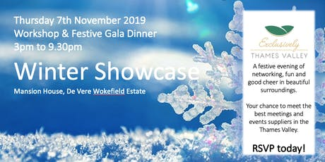 The Exclusively Thames Valley Winter Warmer Showcase tickets
