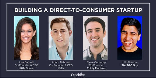 Building a Direct-to-Consumer Startup