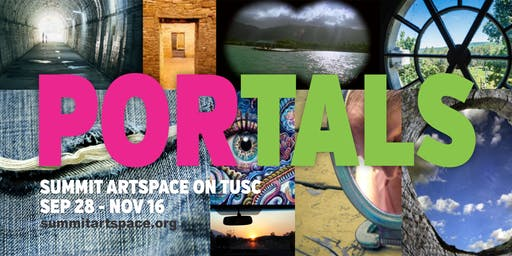 PORTALS Photo Exhibit Artists Panel Discussion at Summit Artspace on Tusc