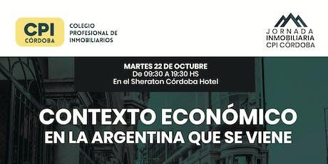 Jornada Inmobiliaria CPI Córdoba - 1° Edición  entradas