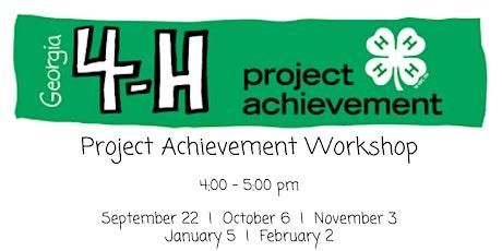 Project Achievement Portfolio Workshop tickets