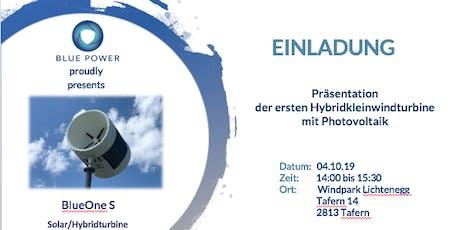 Weltneuheit aus Österreich: Präsentation der ersten Hybridkleinwindturbine mit Photovoltaik Tickets