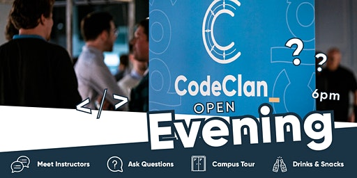 Glasgow Open Evening - Data Analysis & Professional Software Development Courses