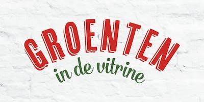 Groenten in de vitrine in Roeselare: pop-up tour van grond tot mond