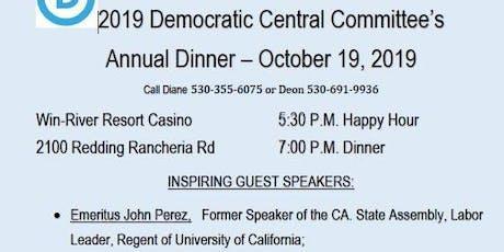 Annual Shasta County Democratic Dinner tickets