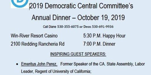 Annual Shasta County Democratic Dinner