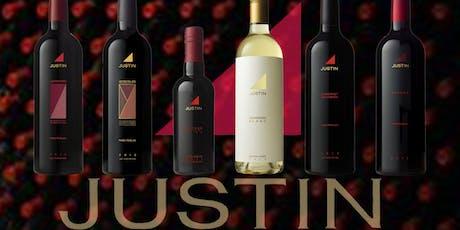 Justin Wine & Food Pairing at Vinos on Galt tickets