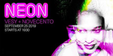 Neon: Vesy + Novecento djset/ Aperitivo biglietti