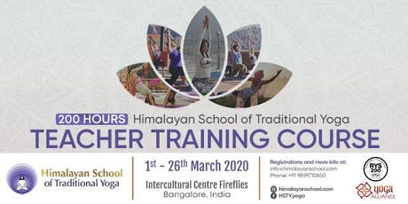 200-hours Teacher Training Course -  CERTIFIED tickets